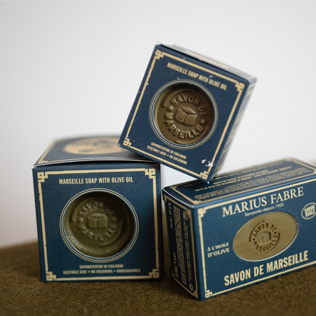 Marseilletvål, kub 200 g