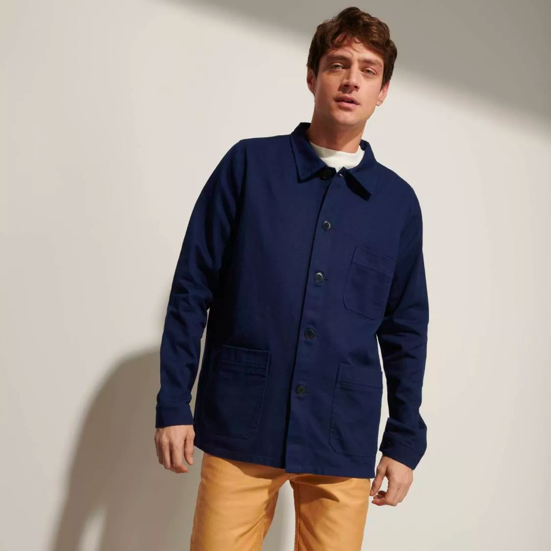 Cotton Twill Work Jacket (Light jacket)