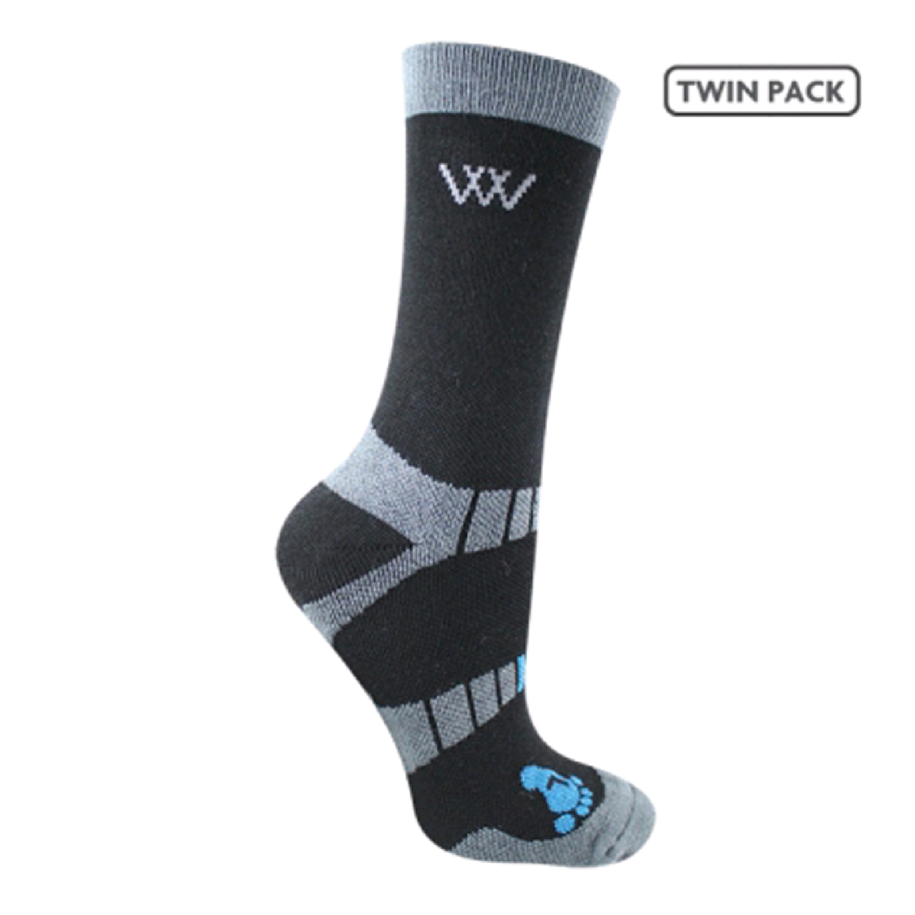 Woofwear waffle knit socks