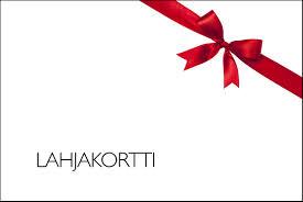 Gift card /Lahjakortti