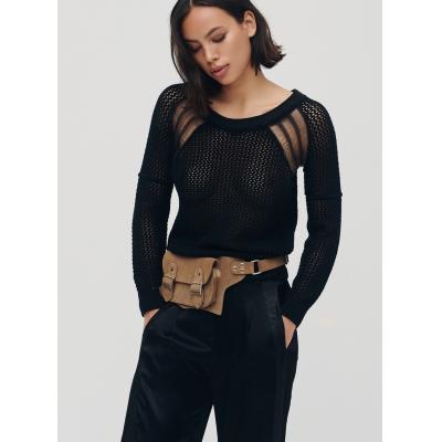 Knit black