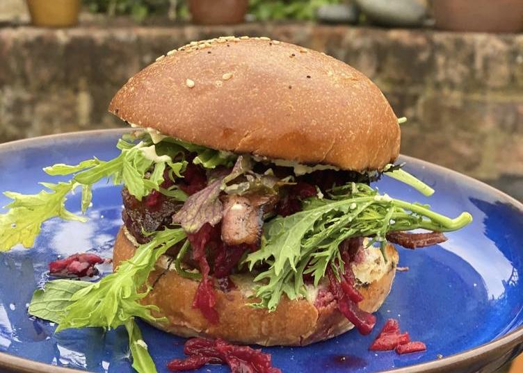 Brioche Burger Buns - pack of 4