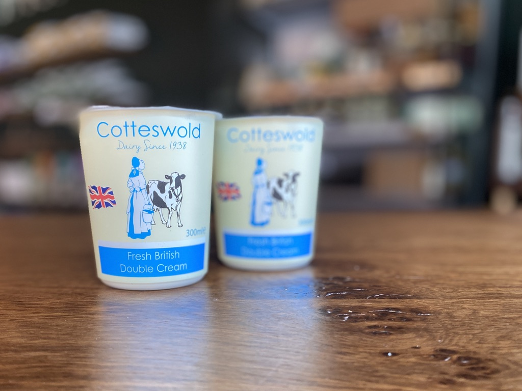 Cotteswold Dairy - Double Cream (300ml)