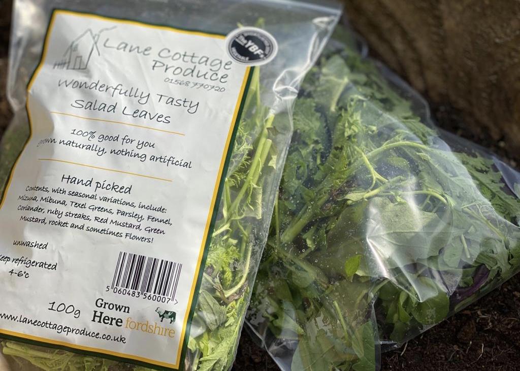 Lane Cottage Produce - Salad Leaves (100g)