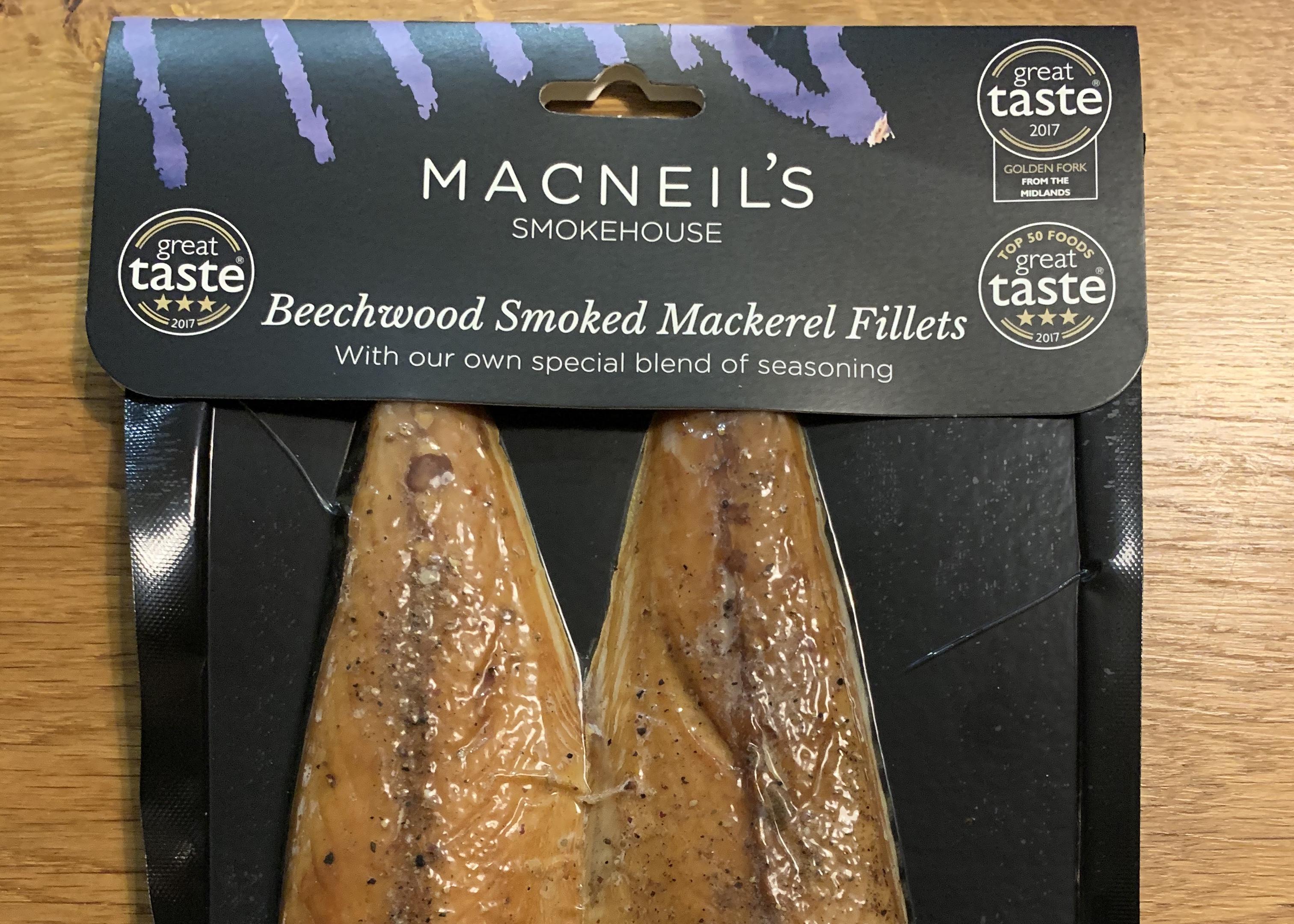 Macneil's Smokehouse - Peppered Mackerel