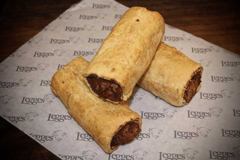Legges of Bromyard - large Sausage Roll