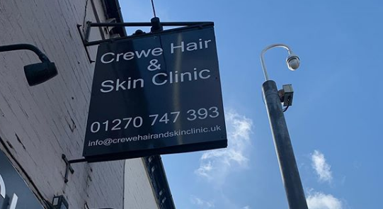 CREWE HAIR AND SKIN CLINIC LIMITED