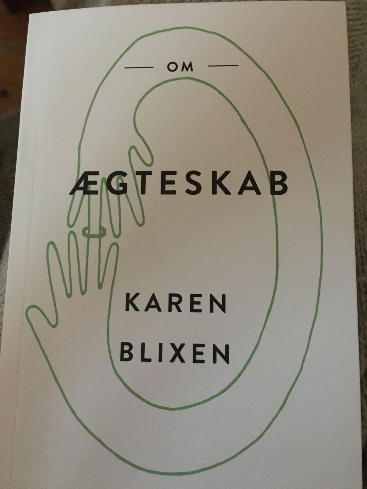 Om ægteskab af Karen Blixen