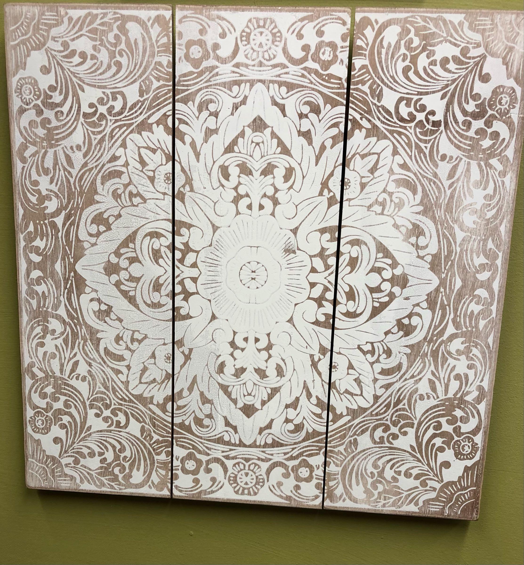 Mandala wall plaque 40cm