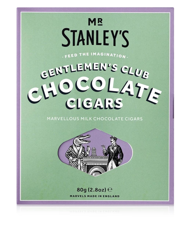 Mr Stanley's gentlemen's Club Milk Chocolate Cigars