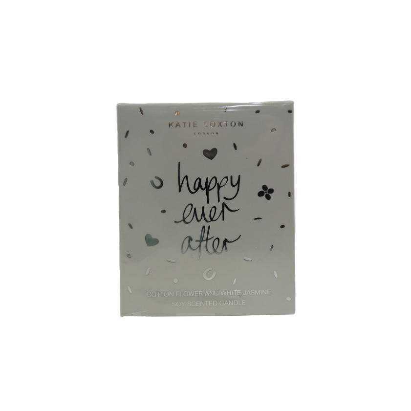 Katie Loxton Candle - Happy Ever After - Cotton Flower & White Jasmine