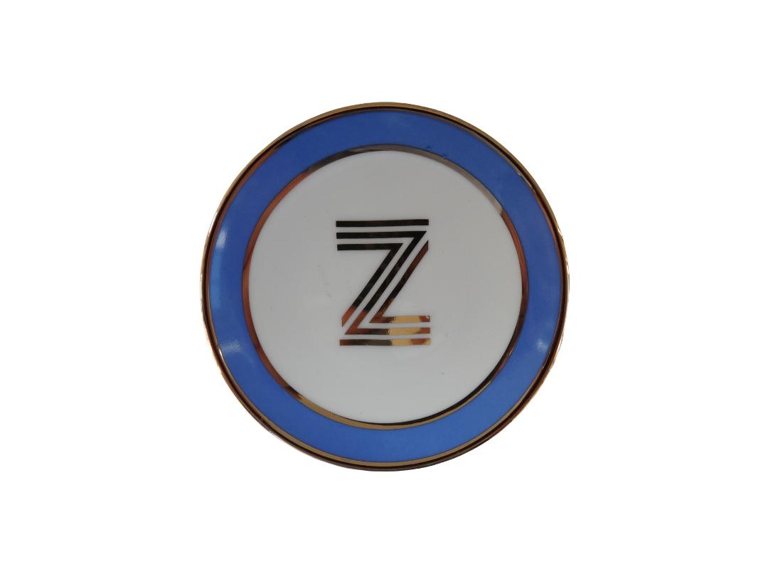 Bombay Duck Alphabet Trinket Dish - Z