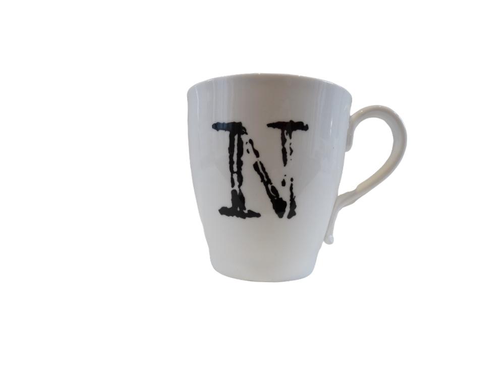 Glorious Mud Alphabet Mug - Naughty But Nice