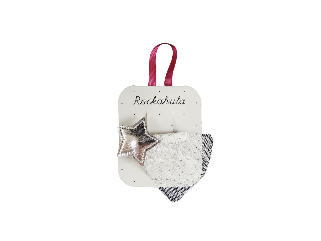 Rockahula Shooting Star Hair Clip - Silver
