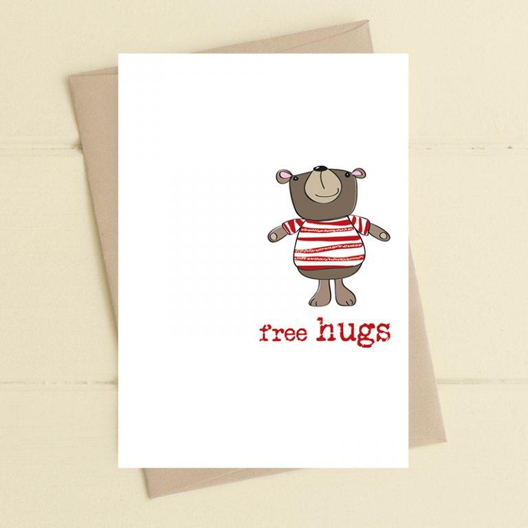 Card Thinking Of You Dandelion - Free Hugs 340