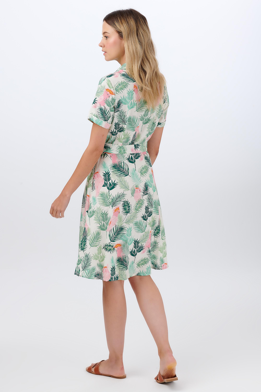 Sugarhill Brighton - Abby Shirt Dress Cockatoo