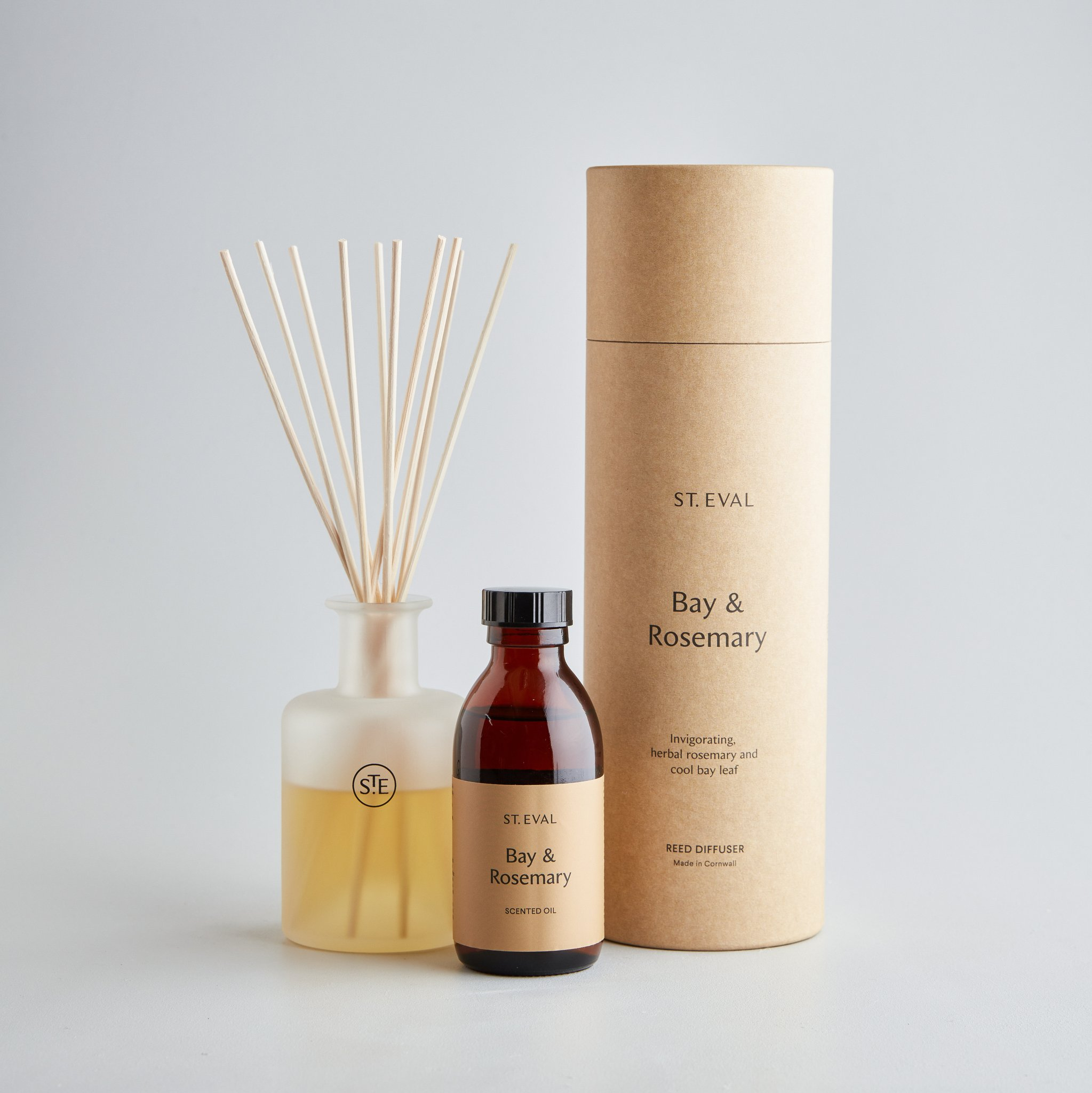 St Eval Reed Diffuser - Bay & Rosemary