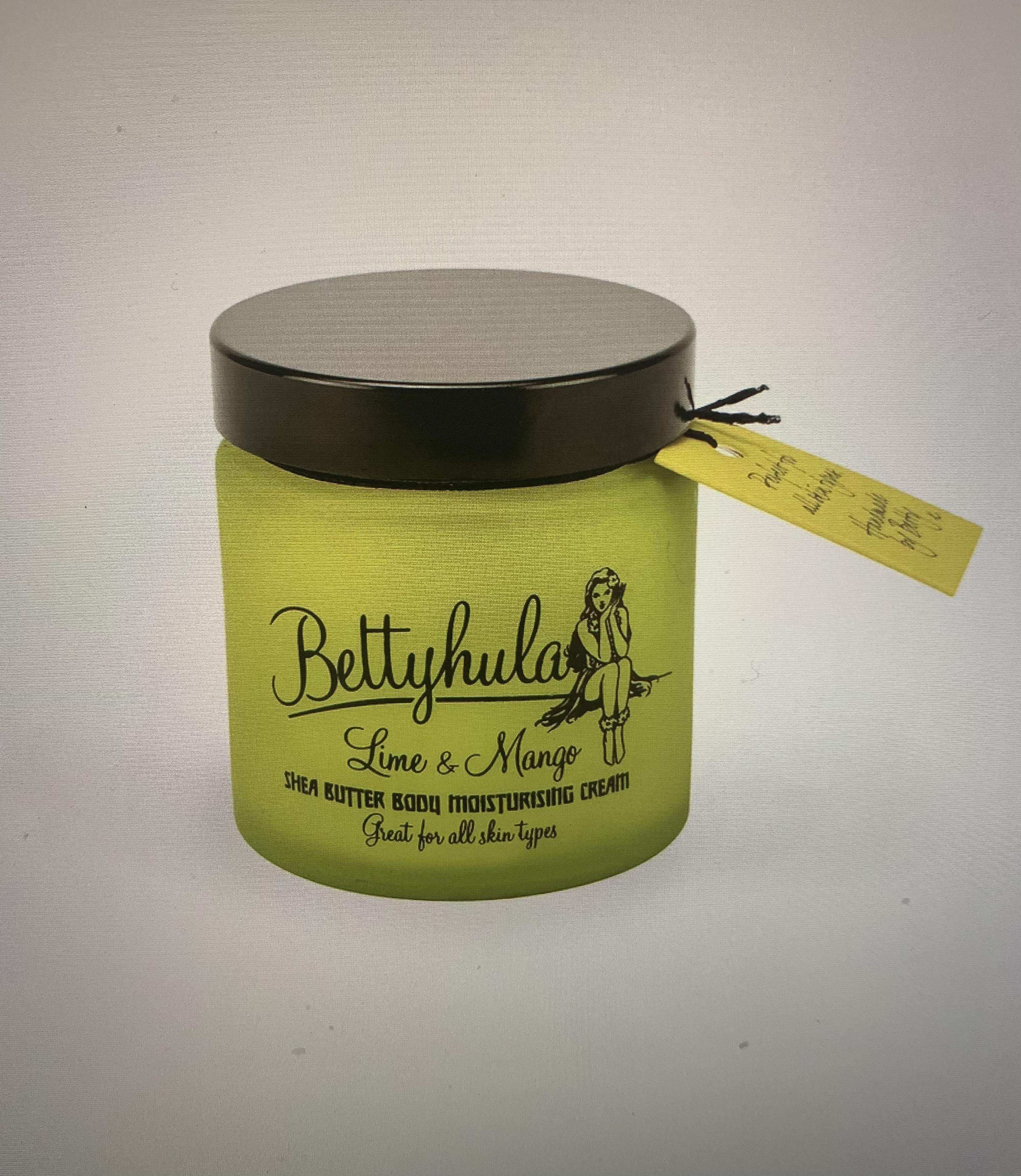 Betty Hula Shea Butter Body Moisturiser- Lime & Mango