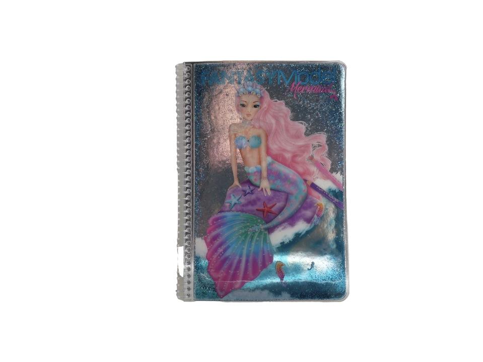 Top Model Fantasy Model Mermaid Colouring Ans Sticker Book