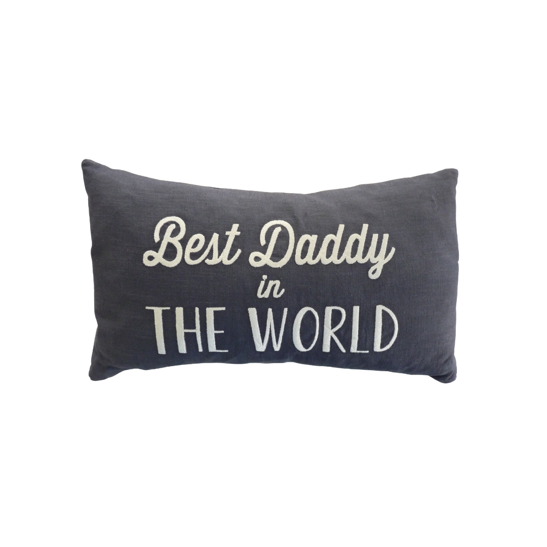 Linen Cushion - Best DAD or Best DADDY in the World