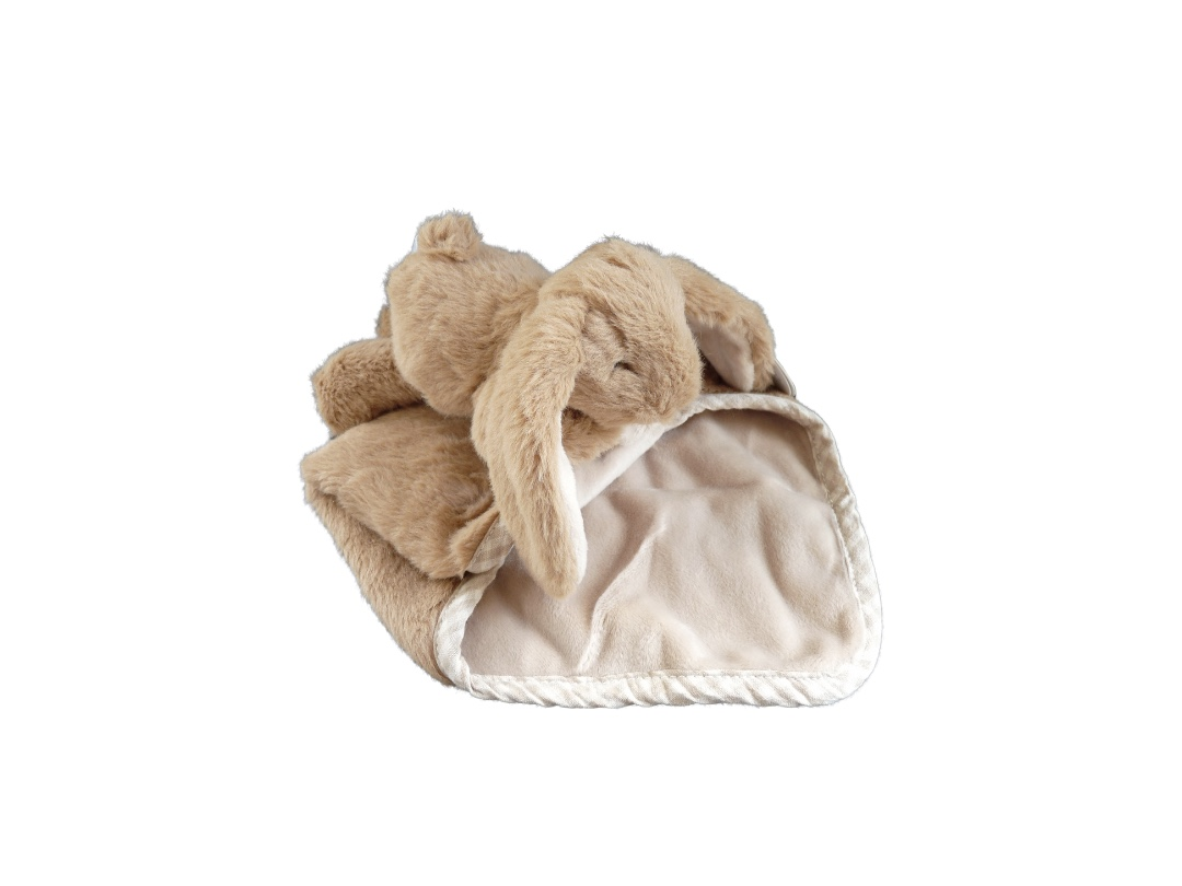 Soother - Bunny Toy Brown