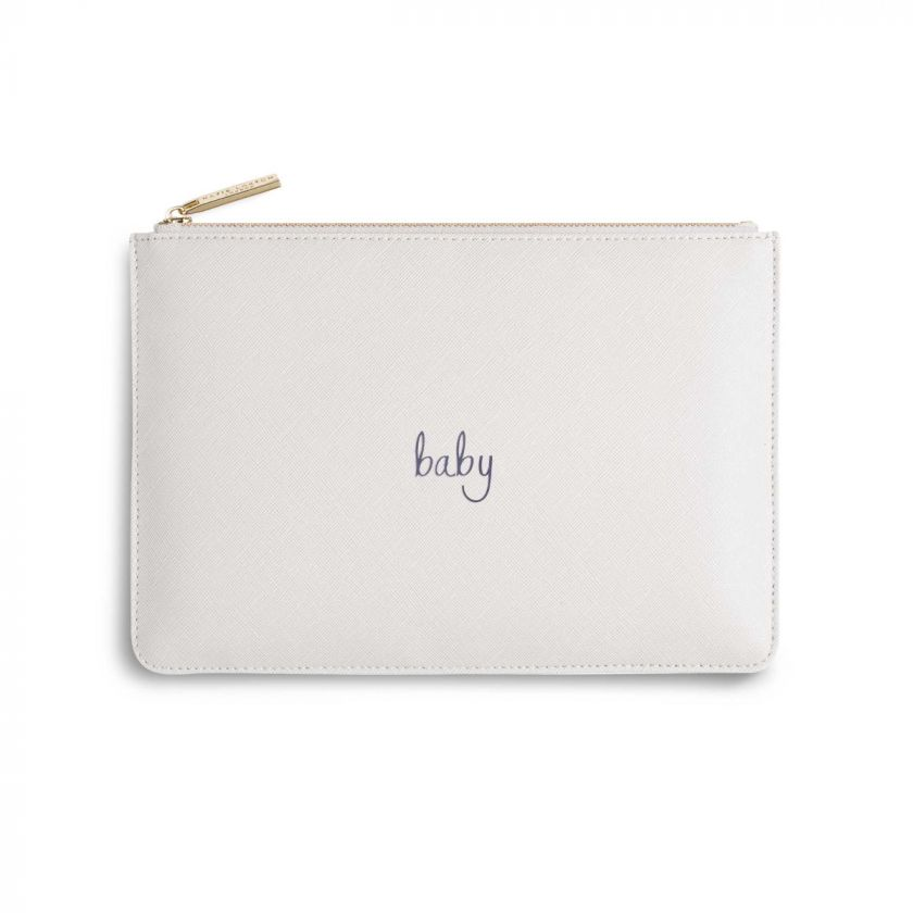 Katie Loxton Perfect Pouch - 'Baby' White