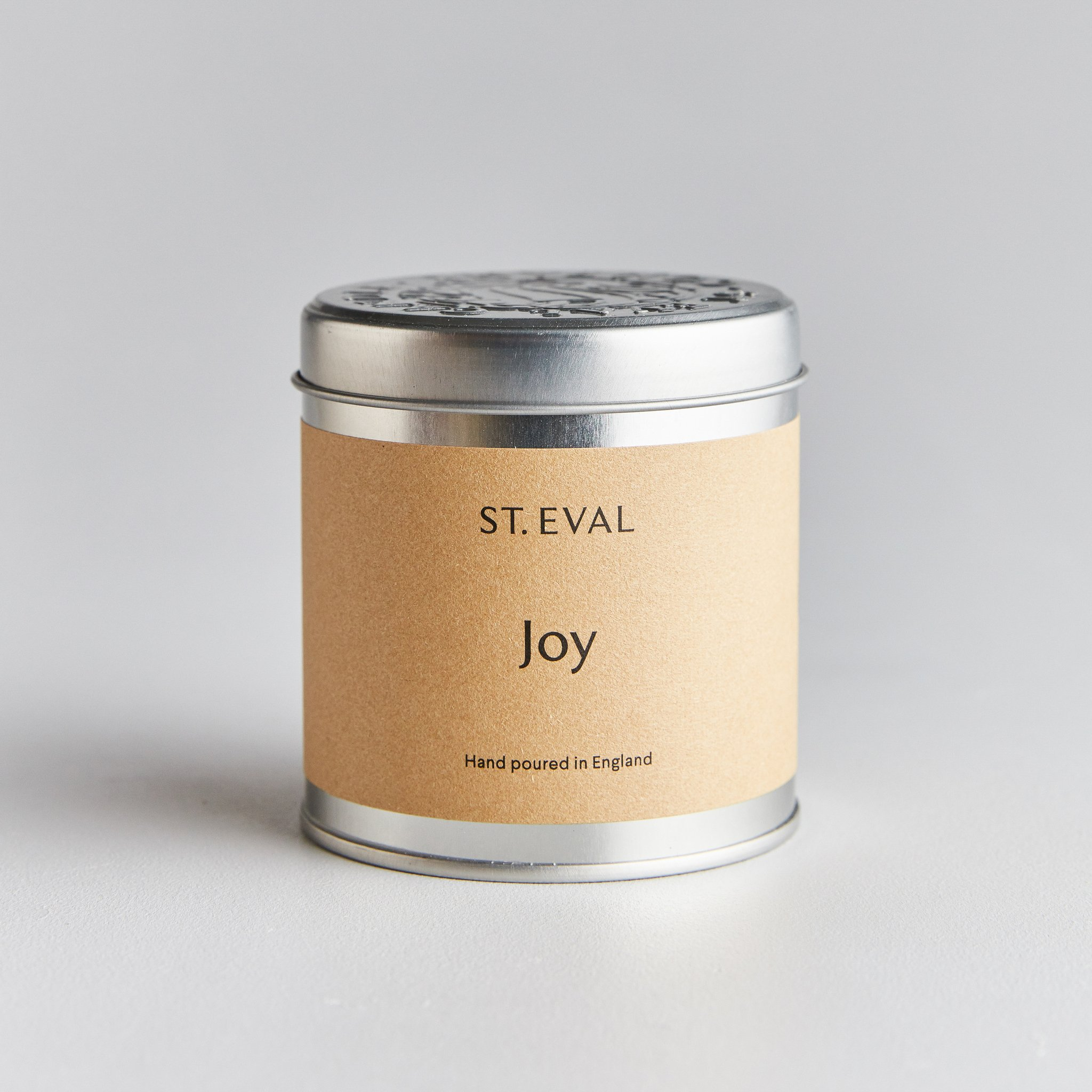 St Eval Candle Tin - Joy