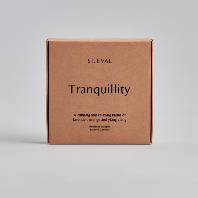 St Eval Tea Lights - Tranquility