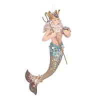Gisela graham Christmas Decoration Kingdom of the Sea - Neptune 16401
