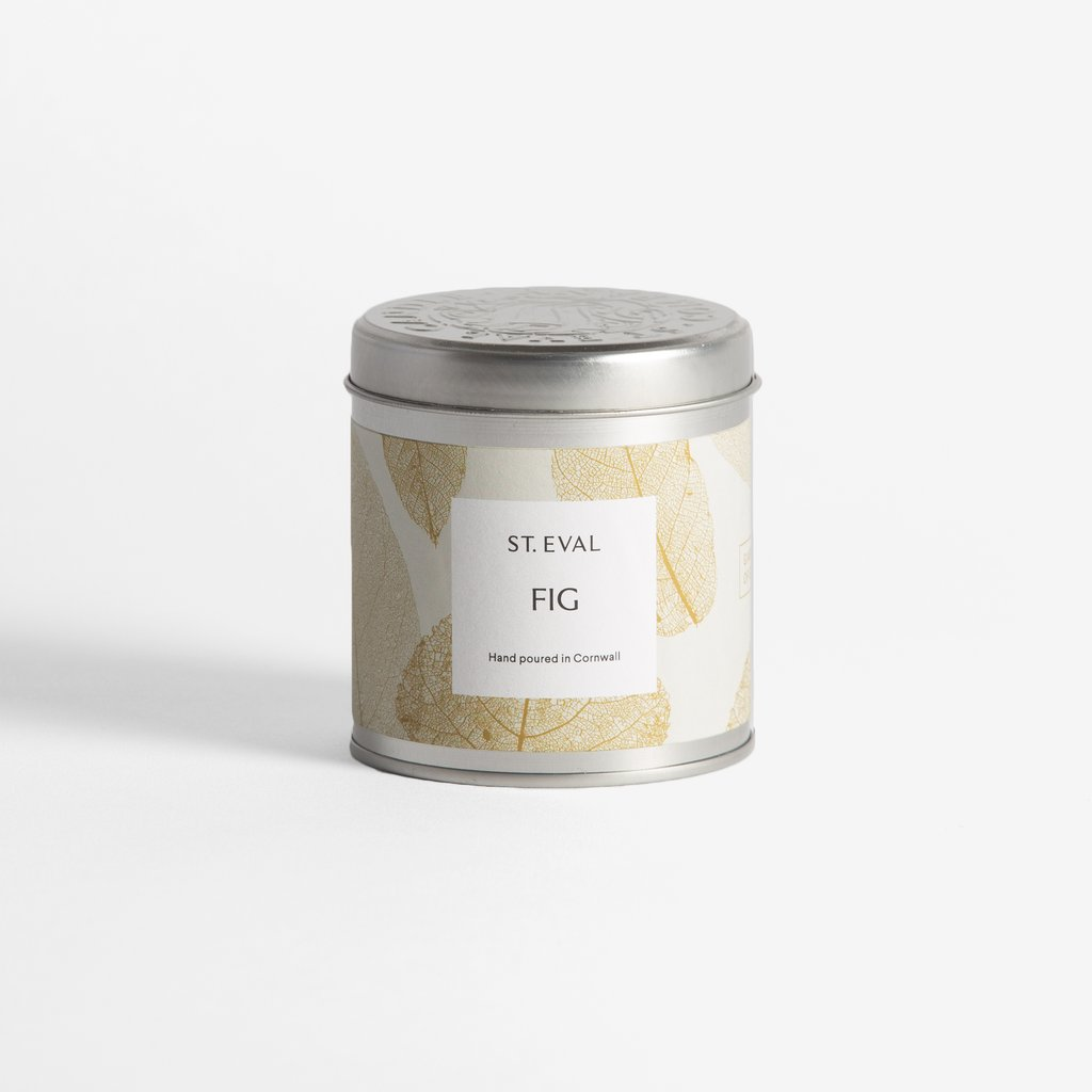 St Eval Eden Candle Tin - Fig