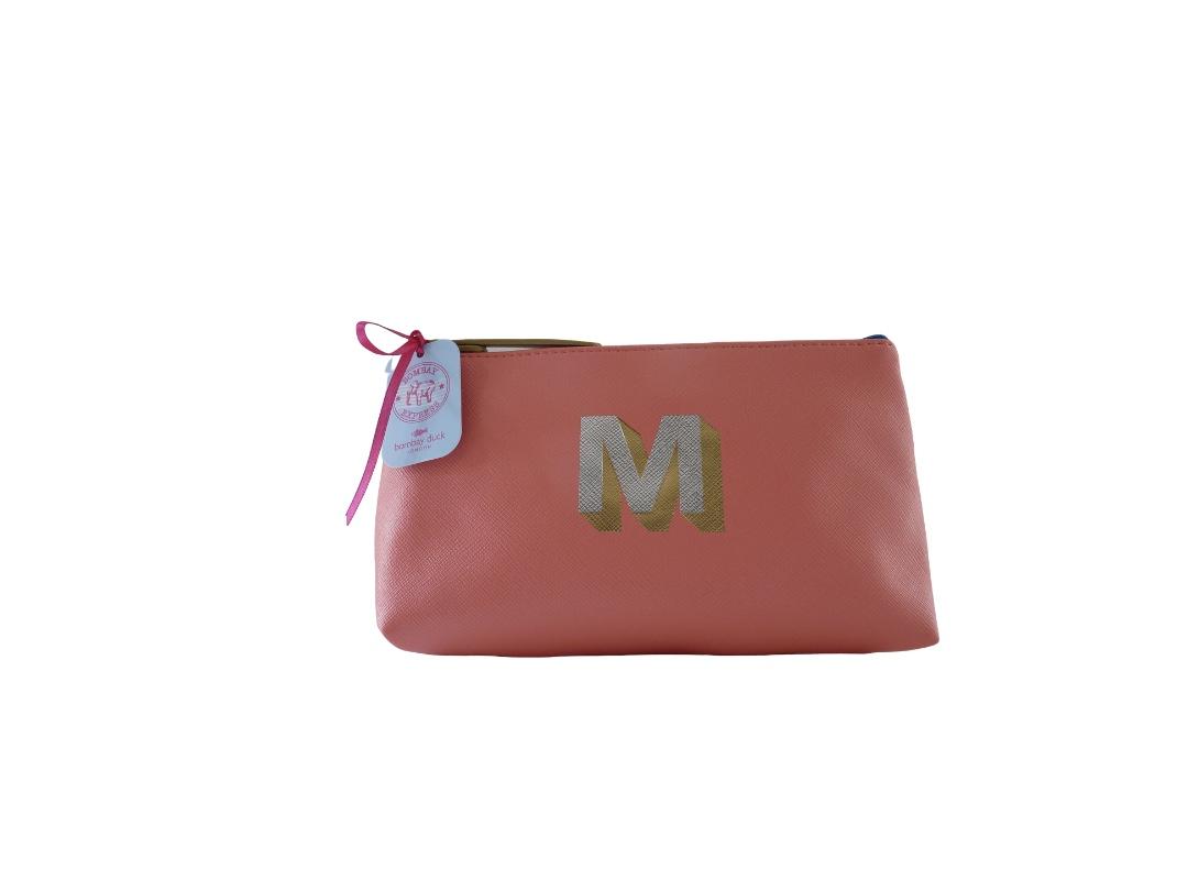 Bombay Duck Alphabet Make Up Bag - M