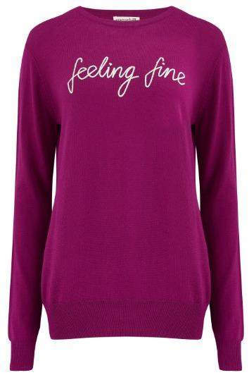 Sugarhill Brighton - Velma Feeling Fine Sweater Violet