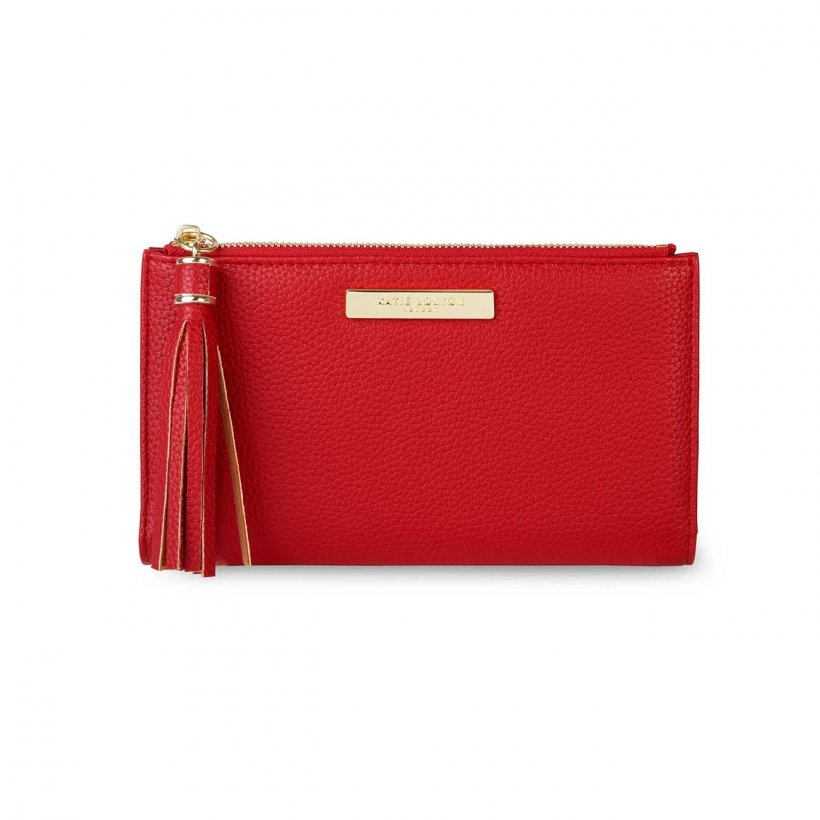 Katie Loxton Purse - Tassel Fold Out Red