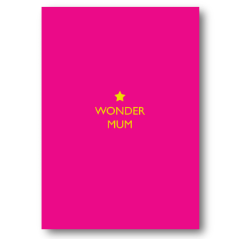 Card Mother's Day Bluebell - Wonder Mum ST043
