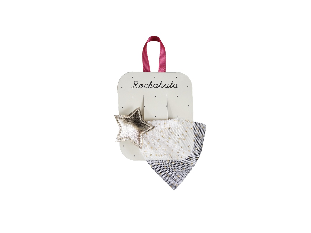 Rockahula Shooting Star Hair Clip - Gold