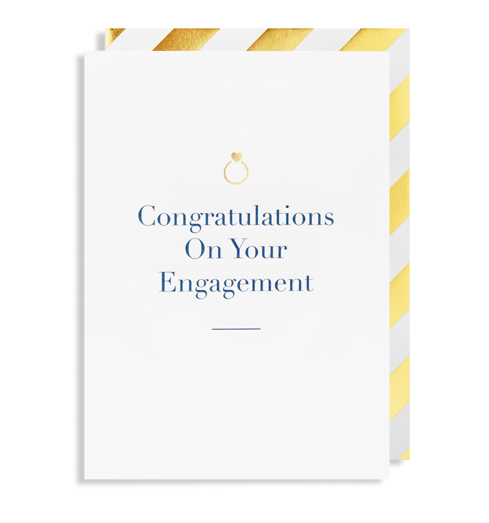 Card Engagement Lagom - Congratulations On Your Engagement 6117
