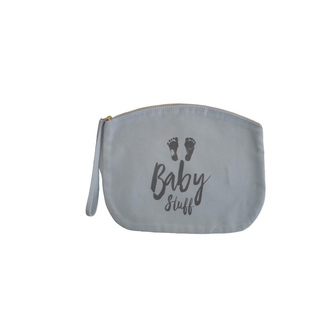 New Mummy Baby Stuff Pouch - Blue
