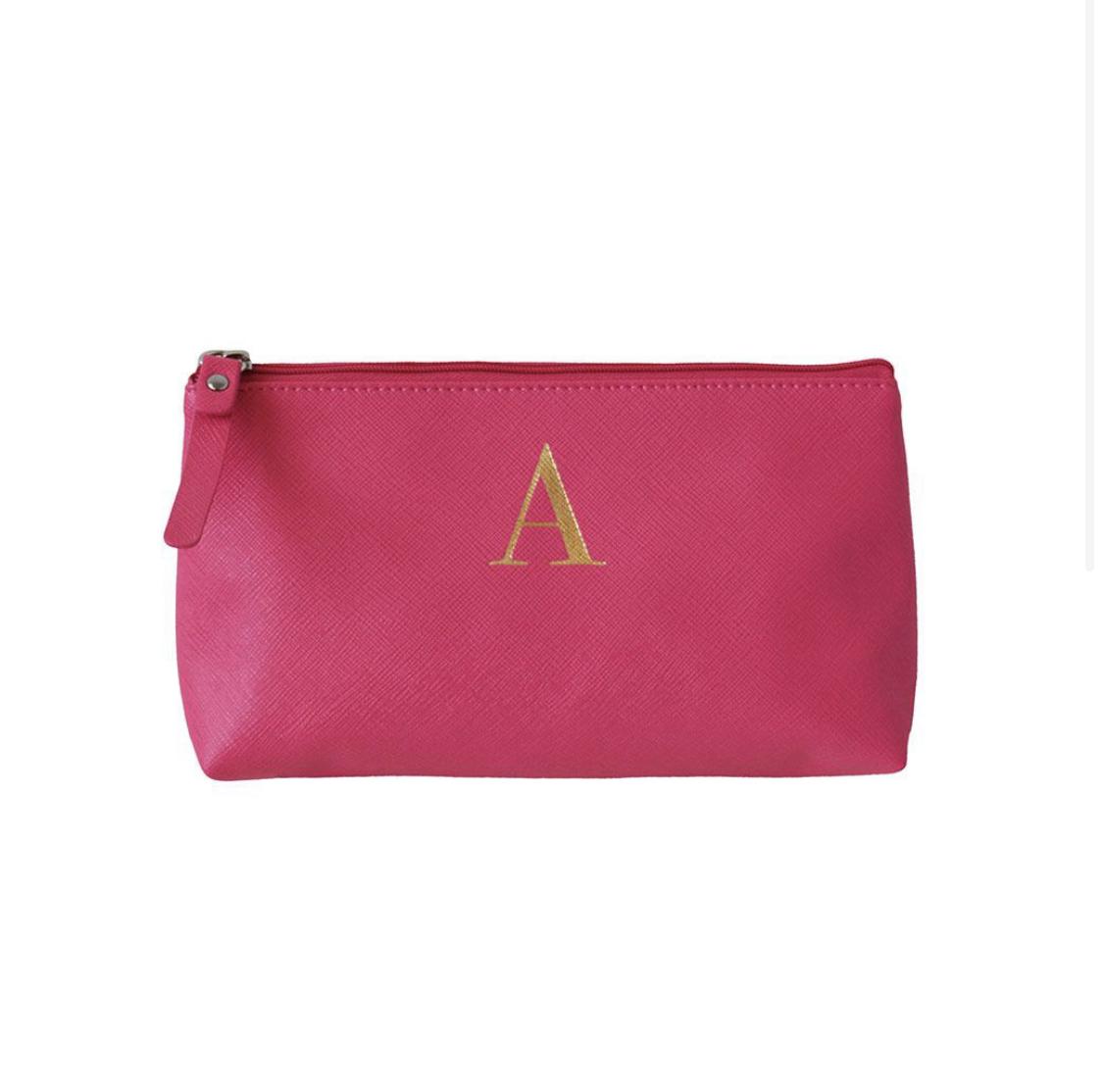 Bombay Duck Alphabet Make Up Bag - A