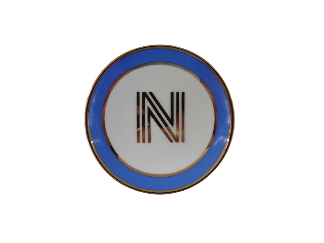 Bombay Duck Alphabet Trinket Dish - N