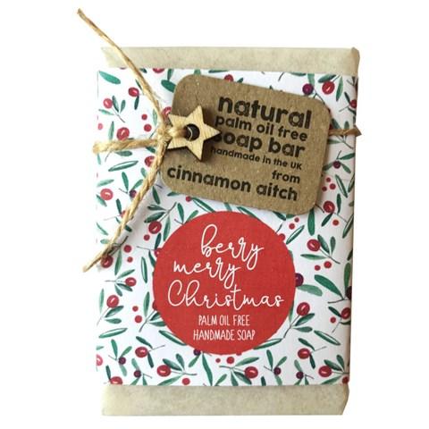 Cinnamon Aitch Soap - Berry Merry Christmas Lemongrass & Hemp