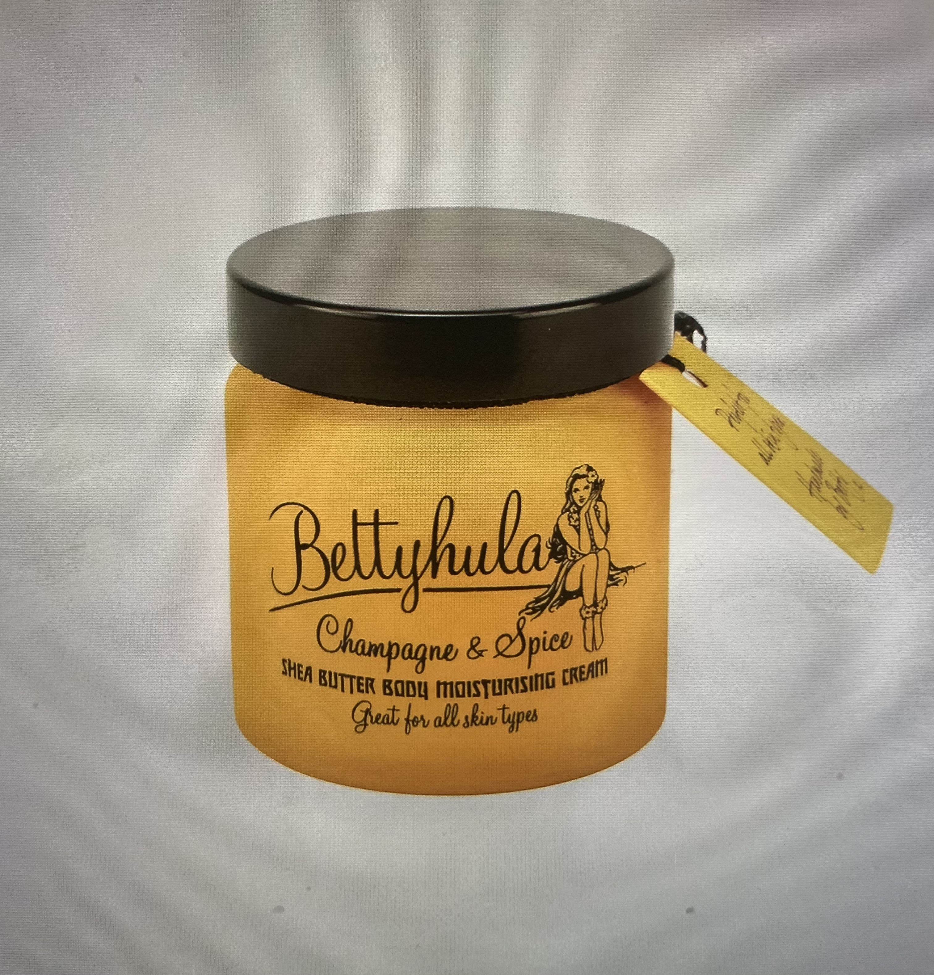 Betty Hula Shea Butter Body Moisturiser - Champagne & Spice