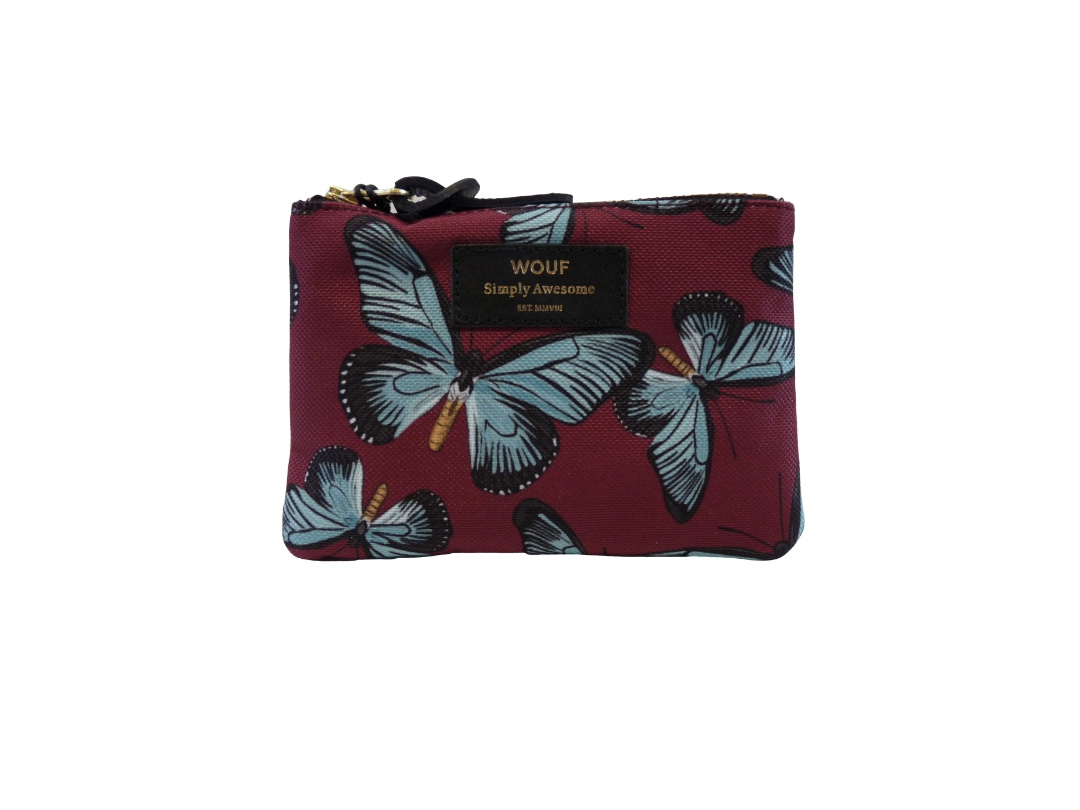 Wouf Pouch - Butterfly Small