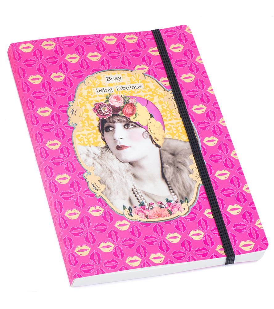 Darling Divas  Notebook - Busy Being Fabulous