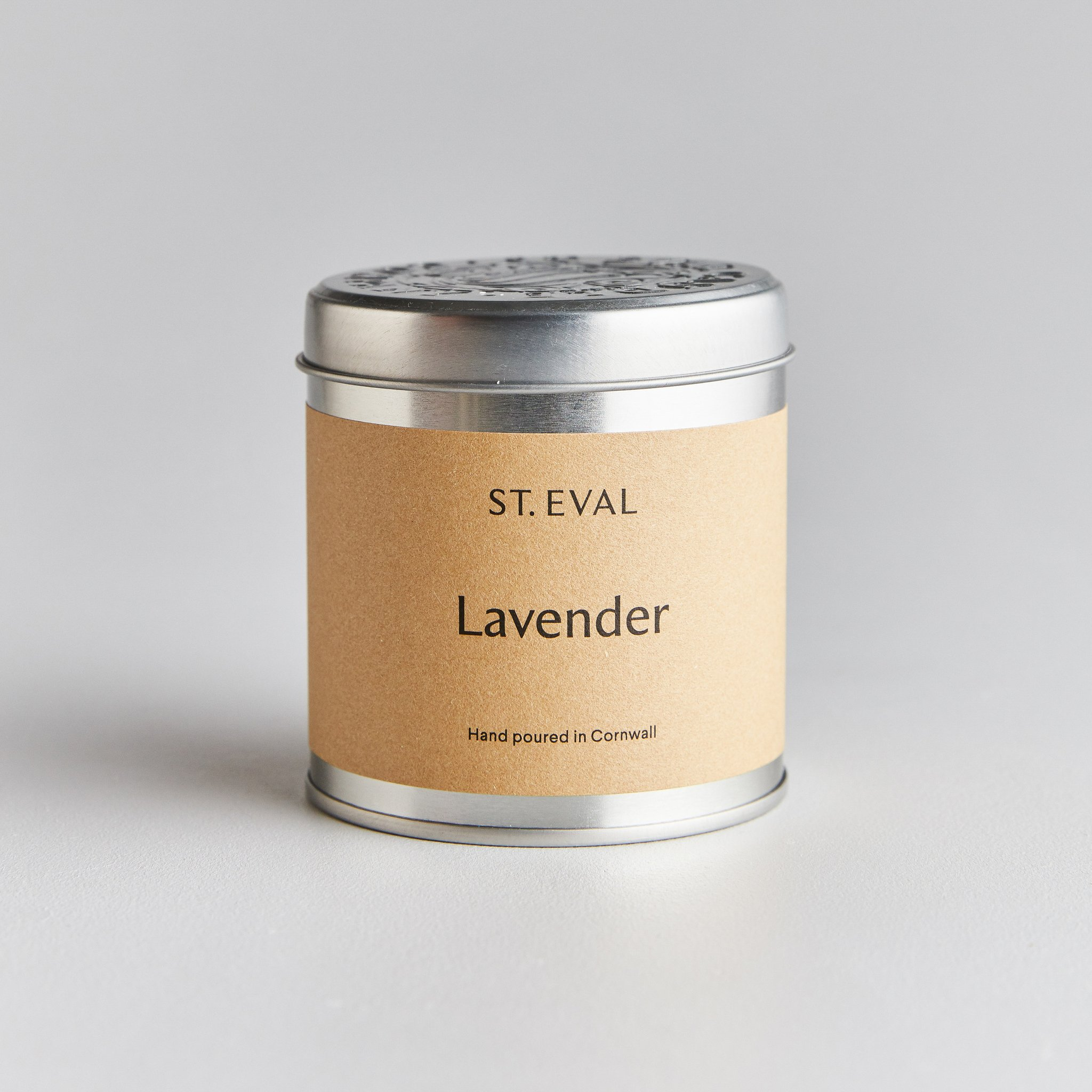 St Eval Candle Tin - Lavender