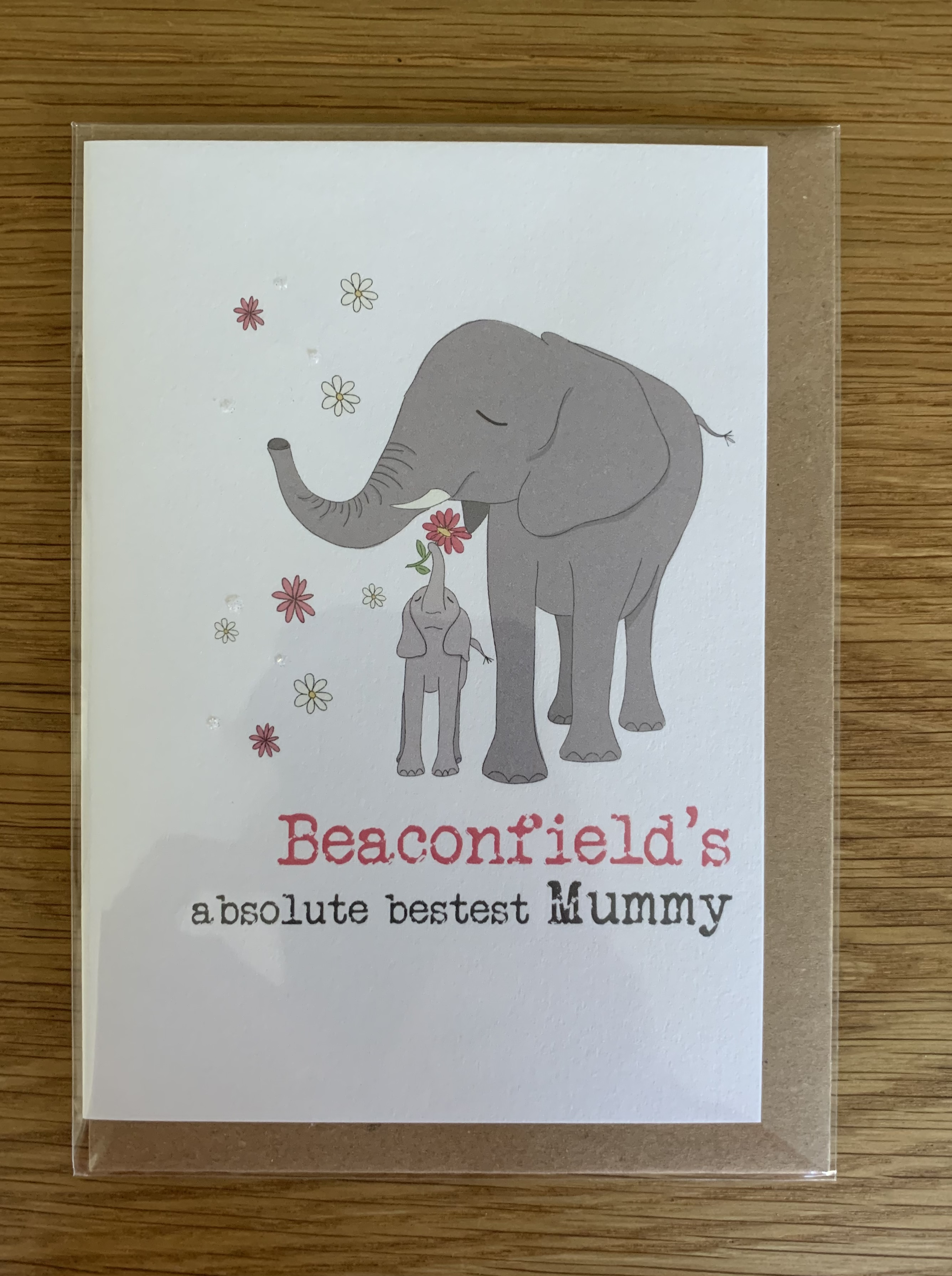 Card Mother's Day Dandelion - Beaconsfield's Absolute Bestest Mummy 572
