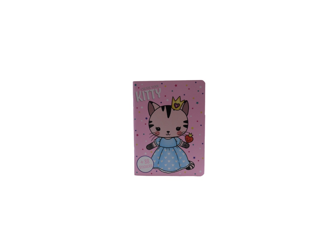Pocket Create Your Kitty Sticker Book