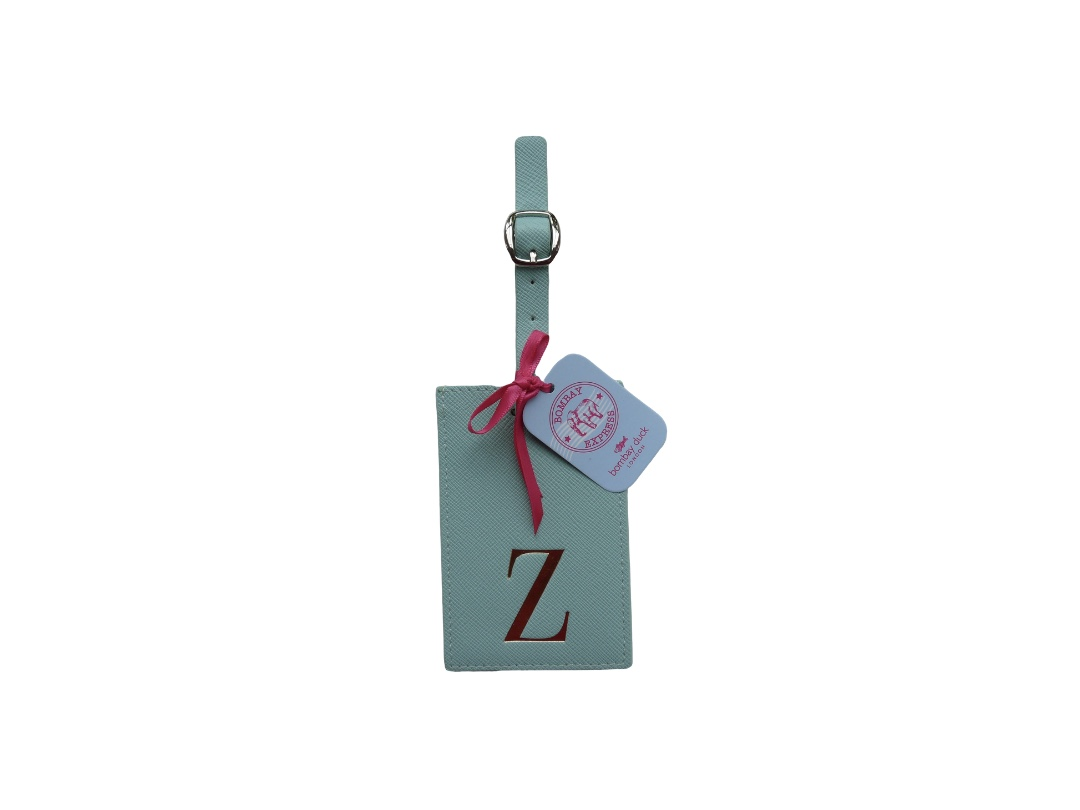 Bombay Duck Alphabet Luggage Tag - Z