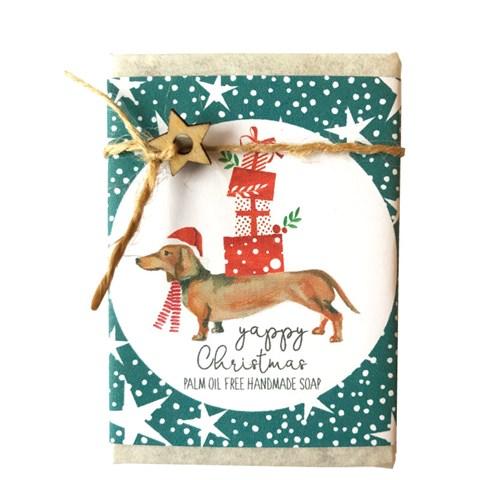 Cinnamon Aitch Soap - Yappy Christmas  Patchouli & Sandalwood