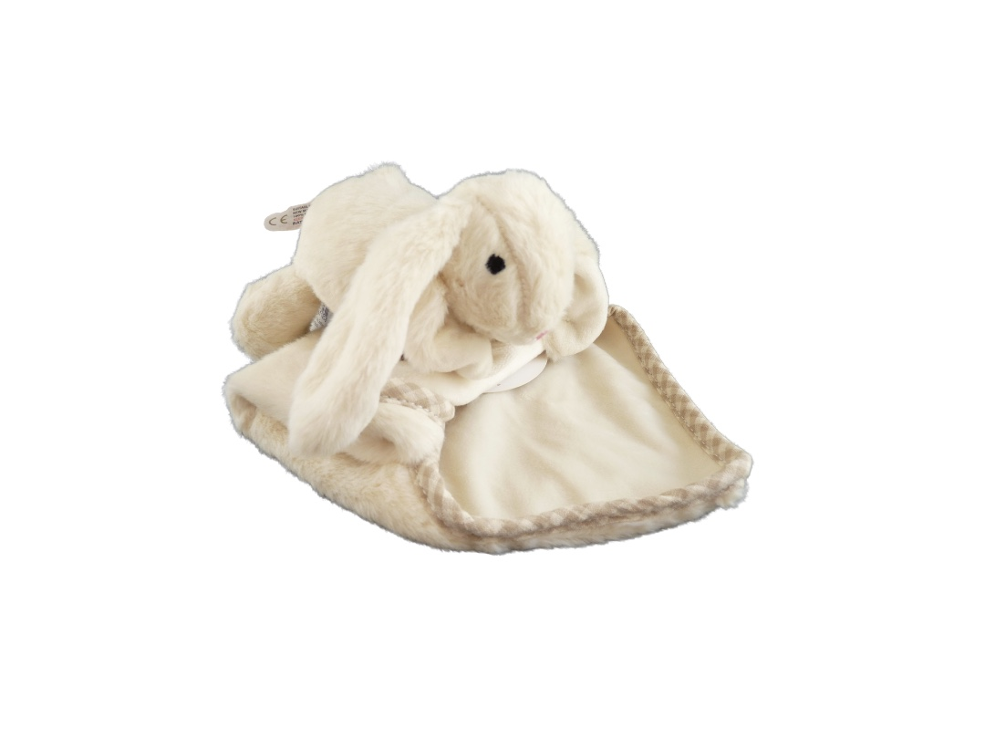 Soother - Bunny Toy Cream
