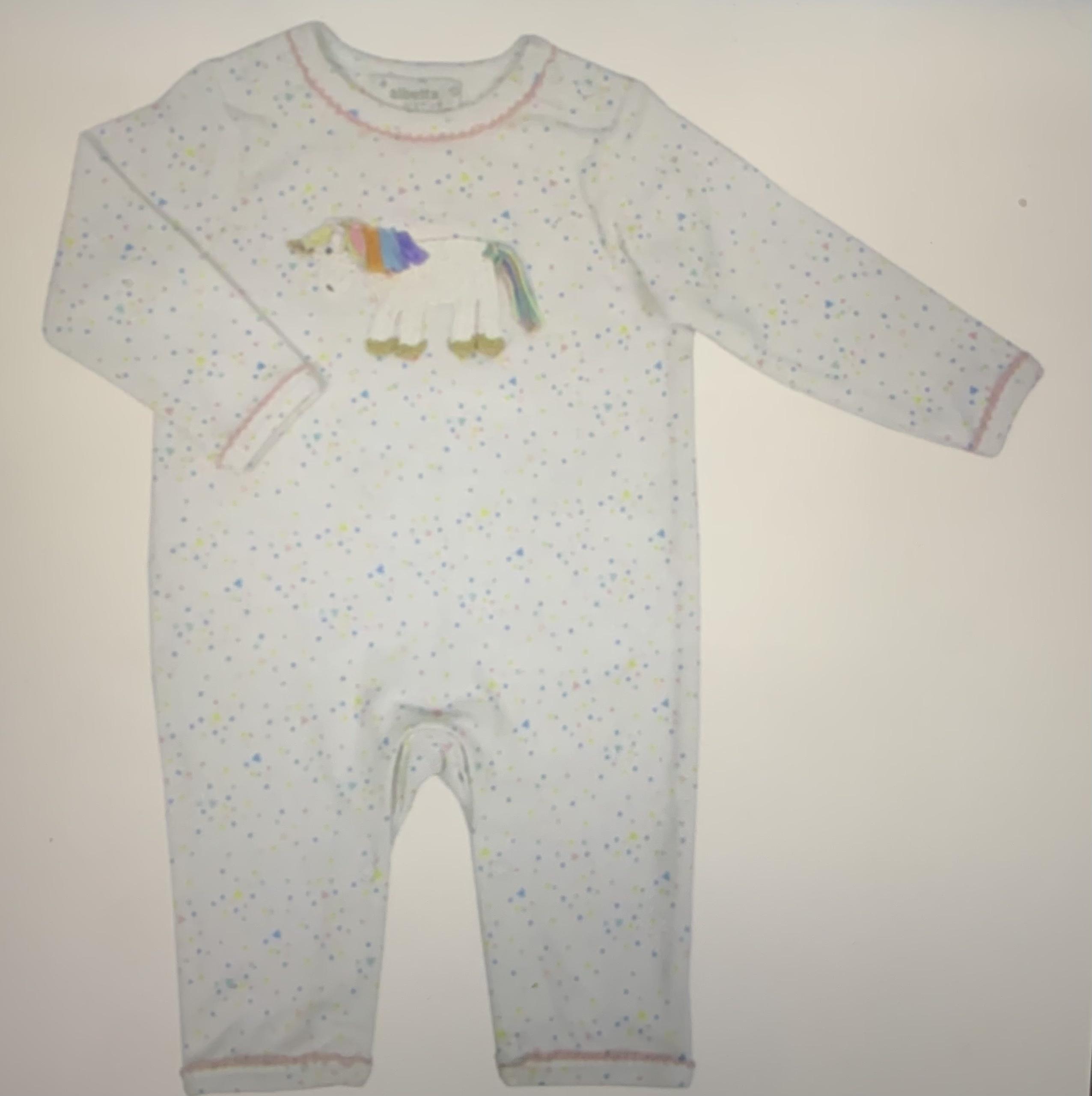 Albetta Babygrow - Unicorn